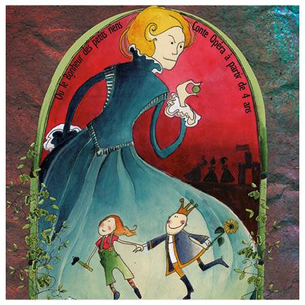 La princesse au petit pois Touk Touk Cie